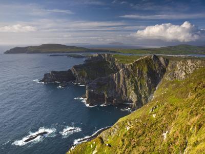 Coastal Cliffs Near Valentia Island, Co Kerry, Ireland
