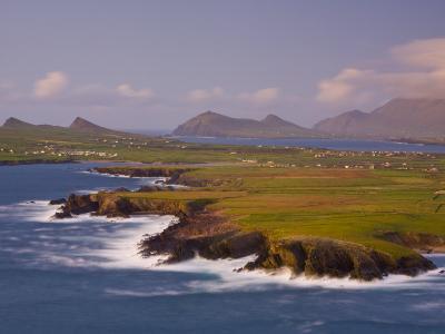 Ballyferriter Bay from Clougher Head, Dingle Peninsula, County Kerry, Munster, Ireland