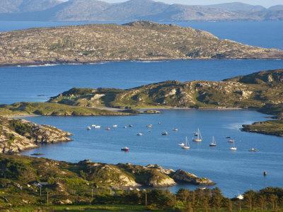 Derrynane Bay, Iveragh Peninsula, Ring of Kerry, Co, Kerry, Ireland