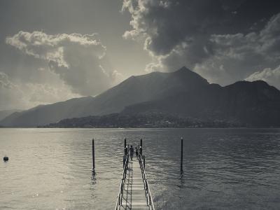Lombardy, Lakes Region, Lake Como, Bellagio, Grand Hotel Villa Serbelloni, Lakefront, Italy