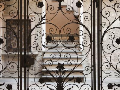 Piedmont, Lake Orta, Orta San Giulio, Ornate Gate, Italy