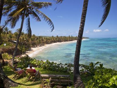 Corn Islands, Little Corn Island, Coral and Iguana Beach, Nicaragua