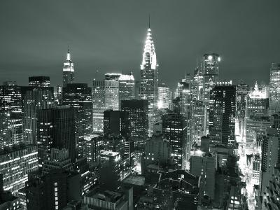 Chrysler Building and Midtown Manhattan Skyline, New York City, USA