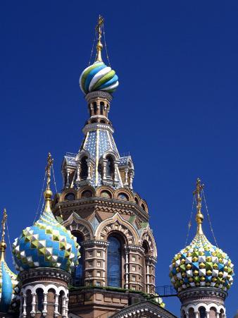 St Petersburg, the Church on Spilt Blood, Russia