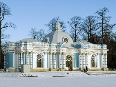 St Petersburg, Tsarskoye Selo, Catherine Palace - the Grotto, Russia