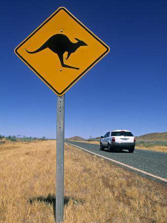 Road Sign, Western Australia, Australia