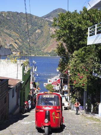 Auto Rickshaw, San Pedro, San Pedro La Laguna, Lake Atitlan, Guatemala, Central America