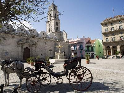 Plaza San Francisco and Basilica Menor De San Francisco De Asis, Old Havana
