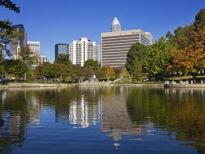 Marshall Park, Charlotte, North Carolina, United States of America, North America