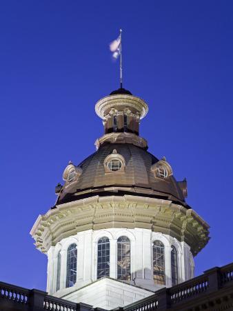 State Capitol Dome, Columbia, South Carolina, United States of America, North America