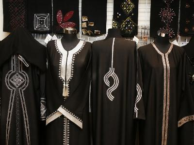 Islamic Dress, Doha, Qatar, Middle East