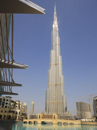 Burj Khalifa, Formerly the Burj Dubai, the Tallest Tower in the World at 818M