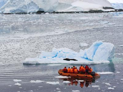 Exploring Paradise Bay, Antarctica, Polar Regions