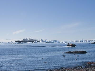 Brown Bluff, Antarctic Peninsula, Antarctica, Polar Regions