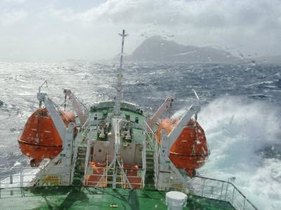 Antarctic Dream in the Drake Passage Near Cape Horn, Chile, South America