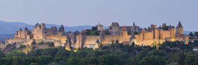 La Cite, Carcassonne, Medieval Walled City, UNESCO World Heritage Site, Languedoc, France, Europe