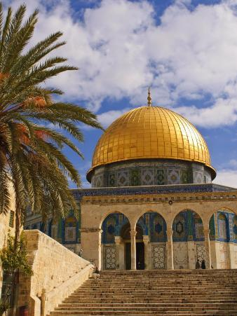 Dome of the Rock, Jerusalem, Israel, Middle East