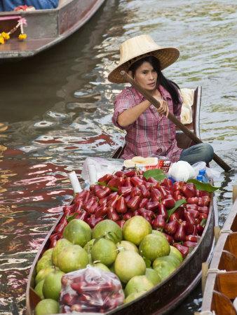 Damnoen Saduak Floating Market, Thailand, Southeast Asia, Asia