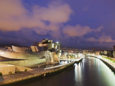 The Guggenheim, Designed by Canadian-American Architect Frank Gehry, on the Nervion River