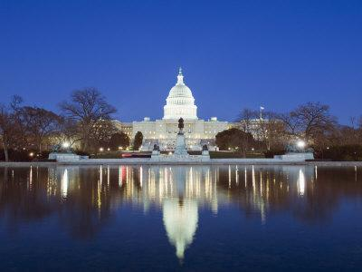 The Capitol Building, Capitol Hill, Washington D.C., United States of America, North America