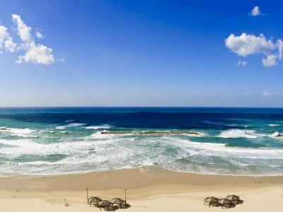 Tel Aviv Beach, Israel, Middle East