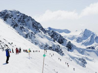 Whistler Mountain Resort, Venue of the 2010 Winter Olympic Games, British Columbia, Canada