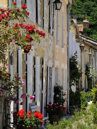 Street of Houses, St. Jean De Cole, Dordogne, France, Europe