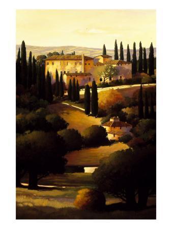 Green Hills of Tuscany I