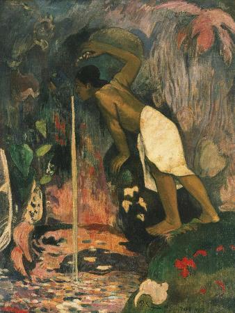 Papa Moe, L'Eau Myst?euse, Mysterious Water, 1893