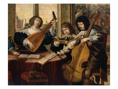 Musicians and Young Singer, from L'ouie (Hearing), c. 1635