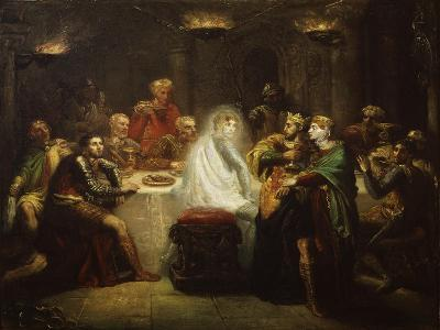 Banquo's Ghost from Macbeth, by William Shakespeare
