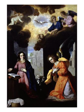 The Annunciation, 1638-39