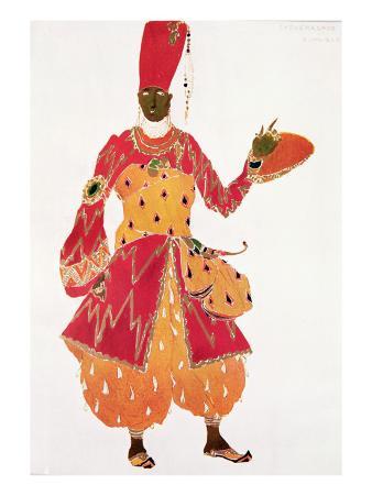 A Eunuch, from the Ballet 'Scheherazade', by Rimsky-Korsakov,