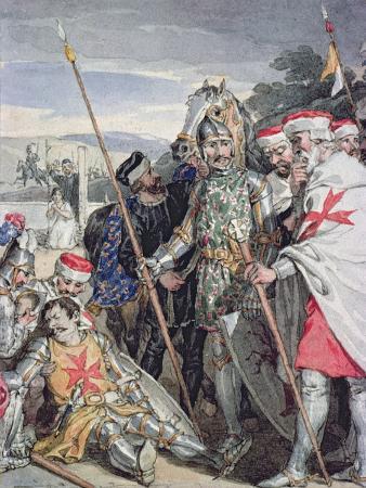 Ivanhoe by Sir Walter Scott: The Death of Sir Brian de Bois-Guilbert