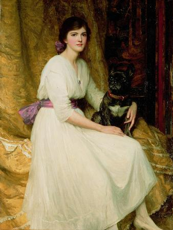 Portrait of Miss Dorothy Dicksee