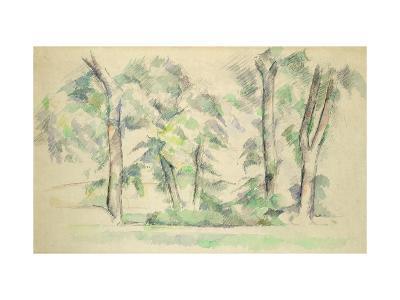 The Large Trees at Jas de Bouffan, c.1885-87