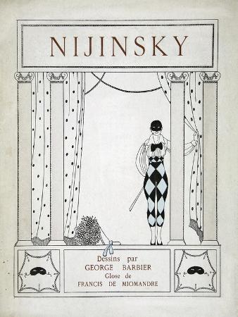 Nijinsky, from the Series 'Designs on the Dances of Vaskac Nijinsky'