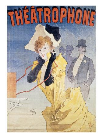 Poster Advertising the 'Theatrophone'