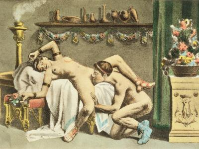 Ancient Times, plate XII of 'De Figuris Veneris' by F.K. Forberg, engraved by the artist, 1900