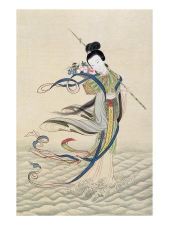 Ho Hsien-Ku, c.1900