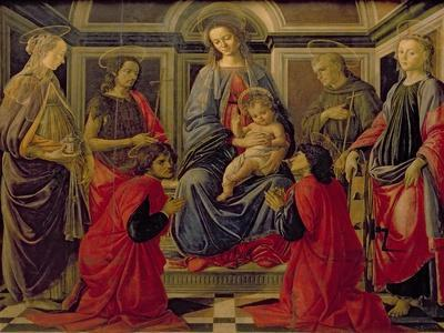 Virgin and Child with SS. Mary Magdalene, John The Baptist, Cosmo, Damian, Francis and Catherine