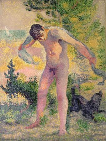 Bather Drying Himself at St. Tropez, 1893