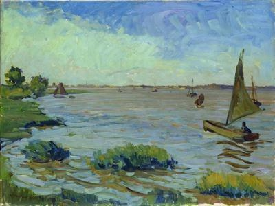 Windy Day on the Elbe, 1911