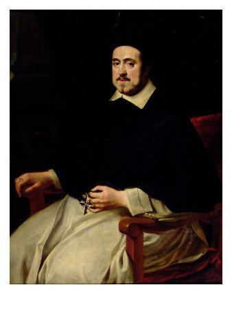 Portrait of Ambrosius Cappelus, Bishop of Antwerp
