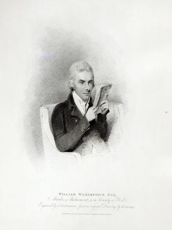 William Wilberforce, engraved by J. Vendramini, 1809