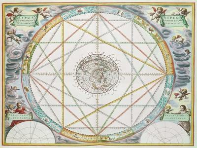 The Conjunction of the Planets, from 'The Celestial Atlas, or Harmony of the Universe'