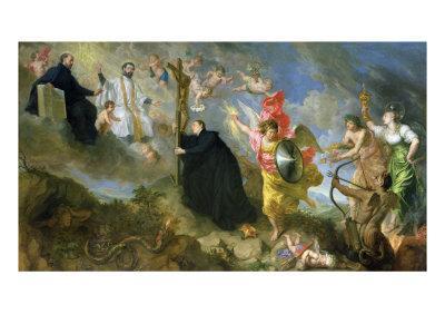 The Vows of Saint Aloysius of Gonzaga