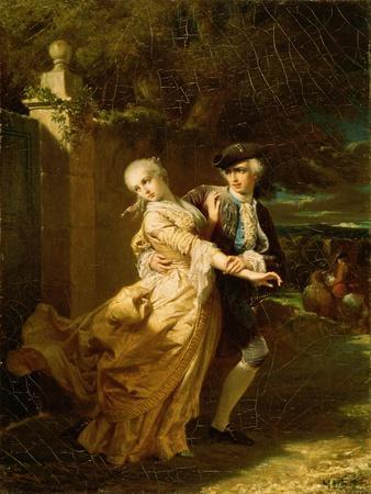 Lovelace Abducting Clarissa Harlowe, 1867