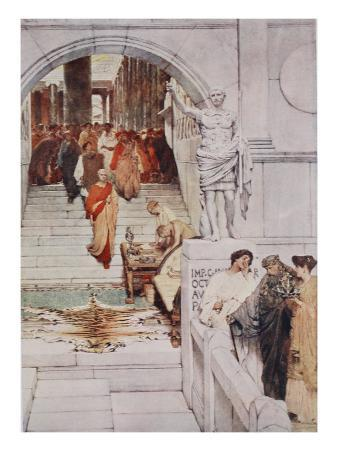 A Visit of Agrippa to Augustus