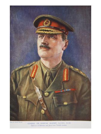 General Sir Edmund Allenby, 1914-19